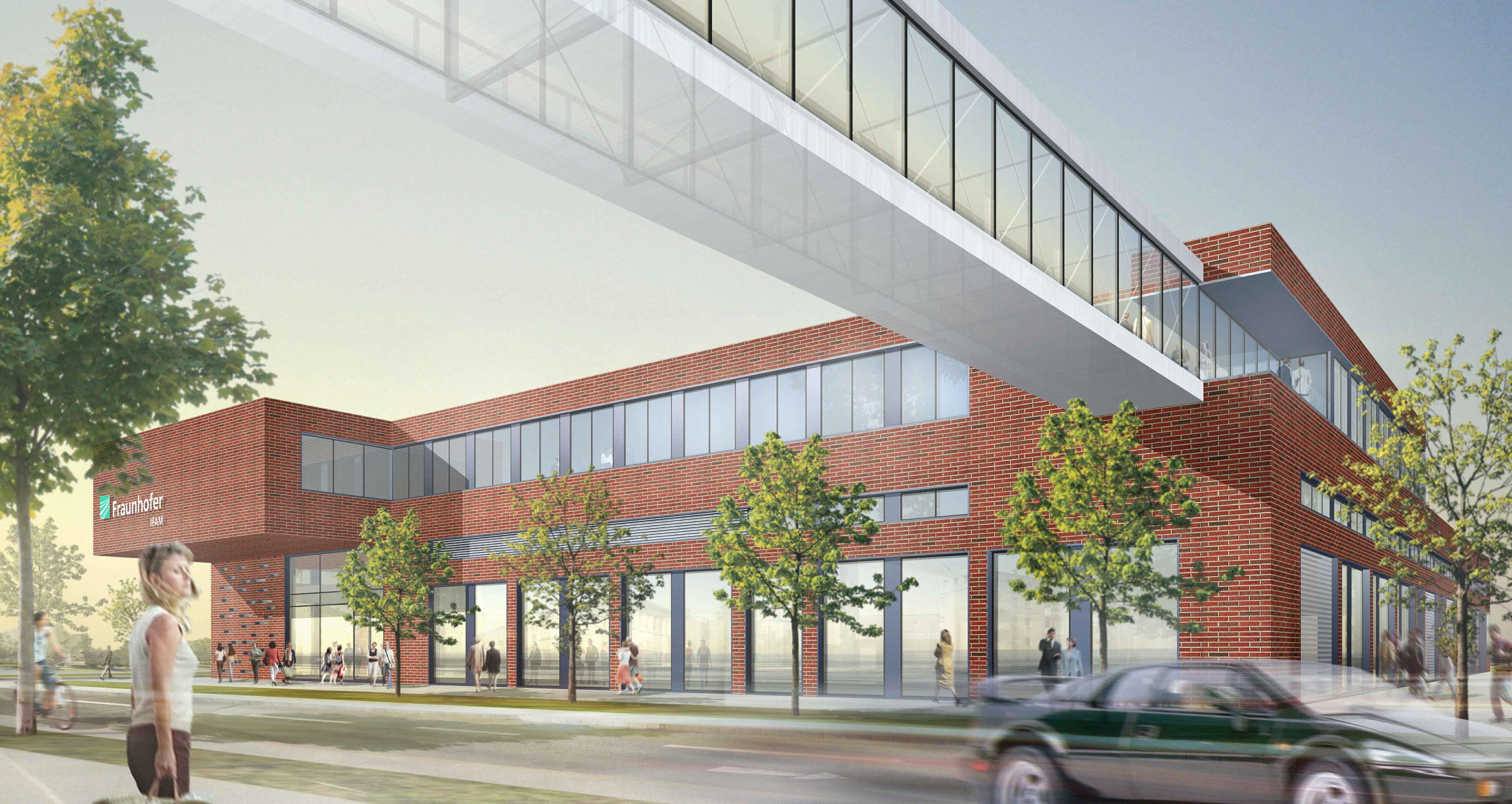Platz für mehr Ideen: Neues Forschungsgebäude für das Fraunhofer ...